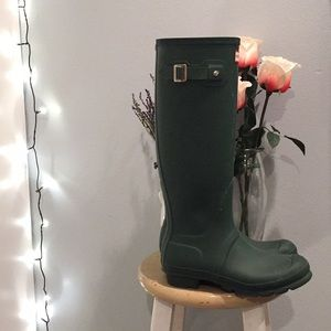 Size 8 Hunter Boots